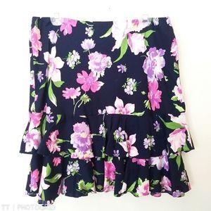 *3 for $15*American Living floral print skirt